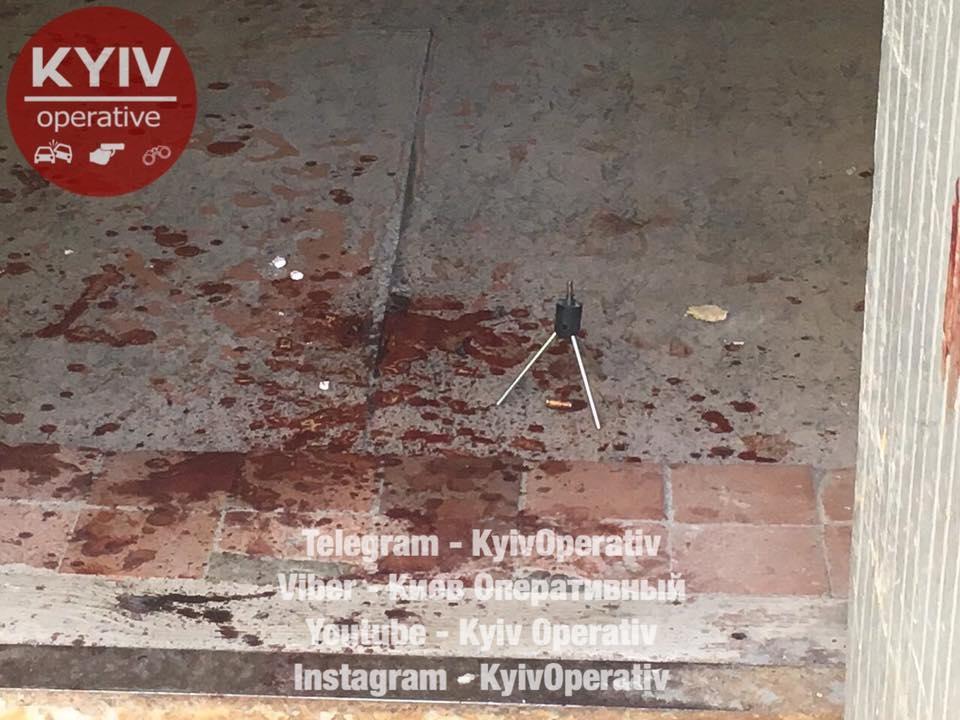 В киевском ЖЭКе неизвестные прострелили мужчине голову
