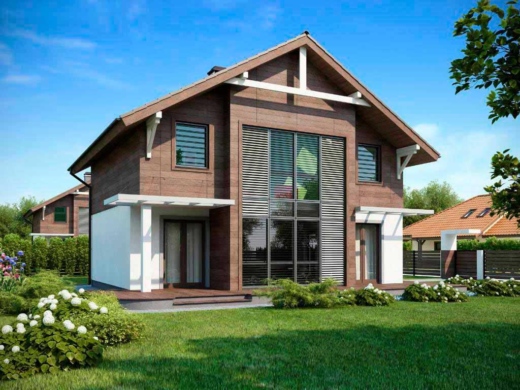 DOM4M - лидер в проектировании домов и коттеджей