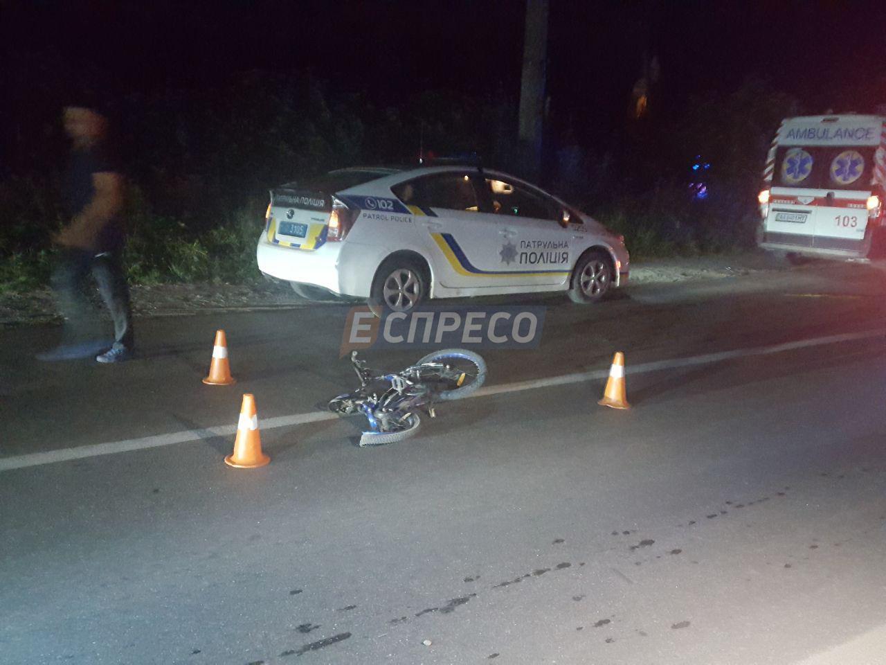 На Осокорках пьяный водитель сбил трех детей. Погиб один ребенок