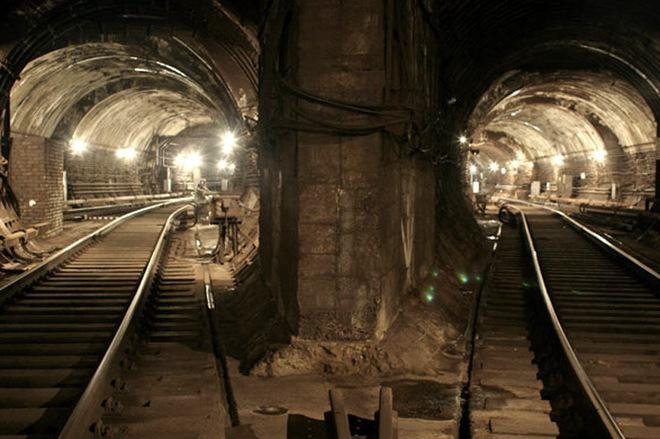 В киевском метро поймали иностранного диггера