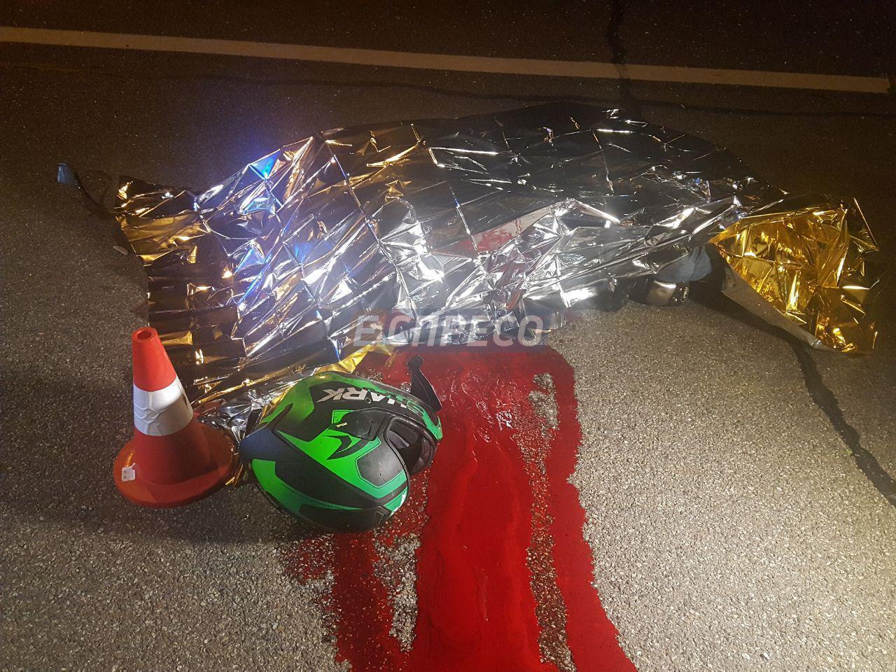 На Столичном шоссе смертельная авария - погиб мотоциклист