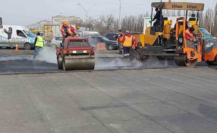 В Киеве сделали новый мост - В.Кличко