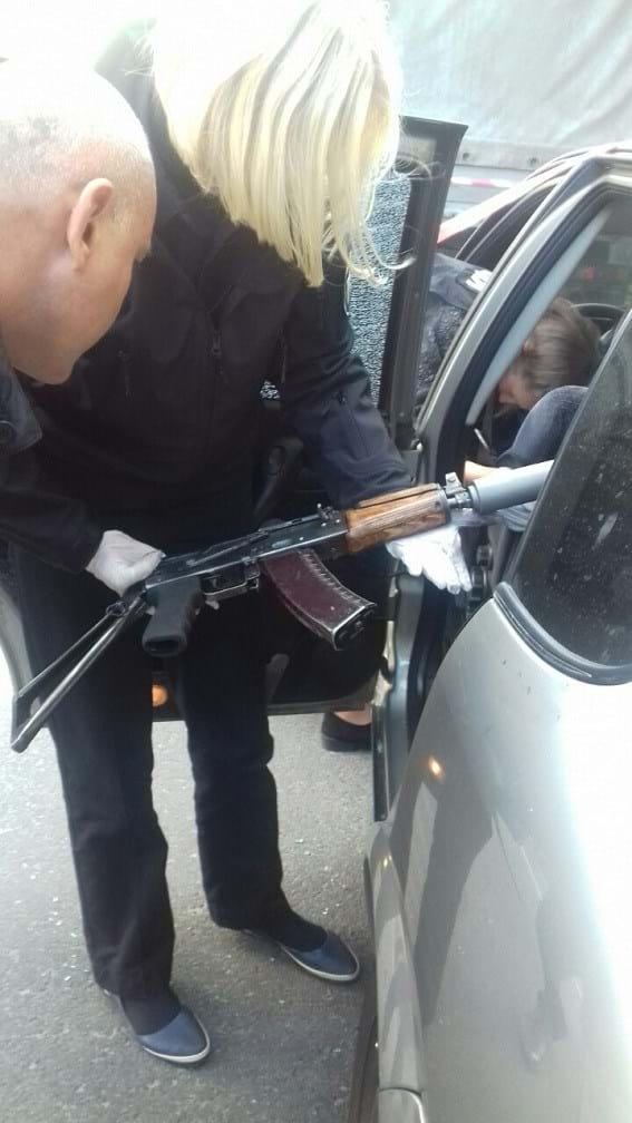 Со следами крови: стали известны подробности погони со стрельбой в Киеве