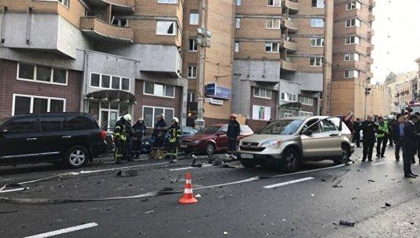 Стало известно состояние здоровья пострадавших в результате взрыва авто
