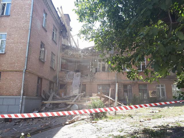 Взорвавшийся дом на просп. Голосеевском восстанавливать не будут