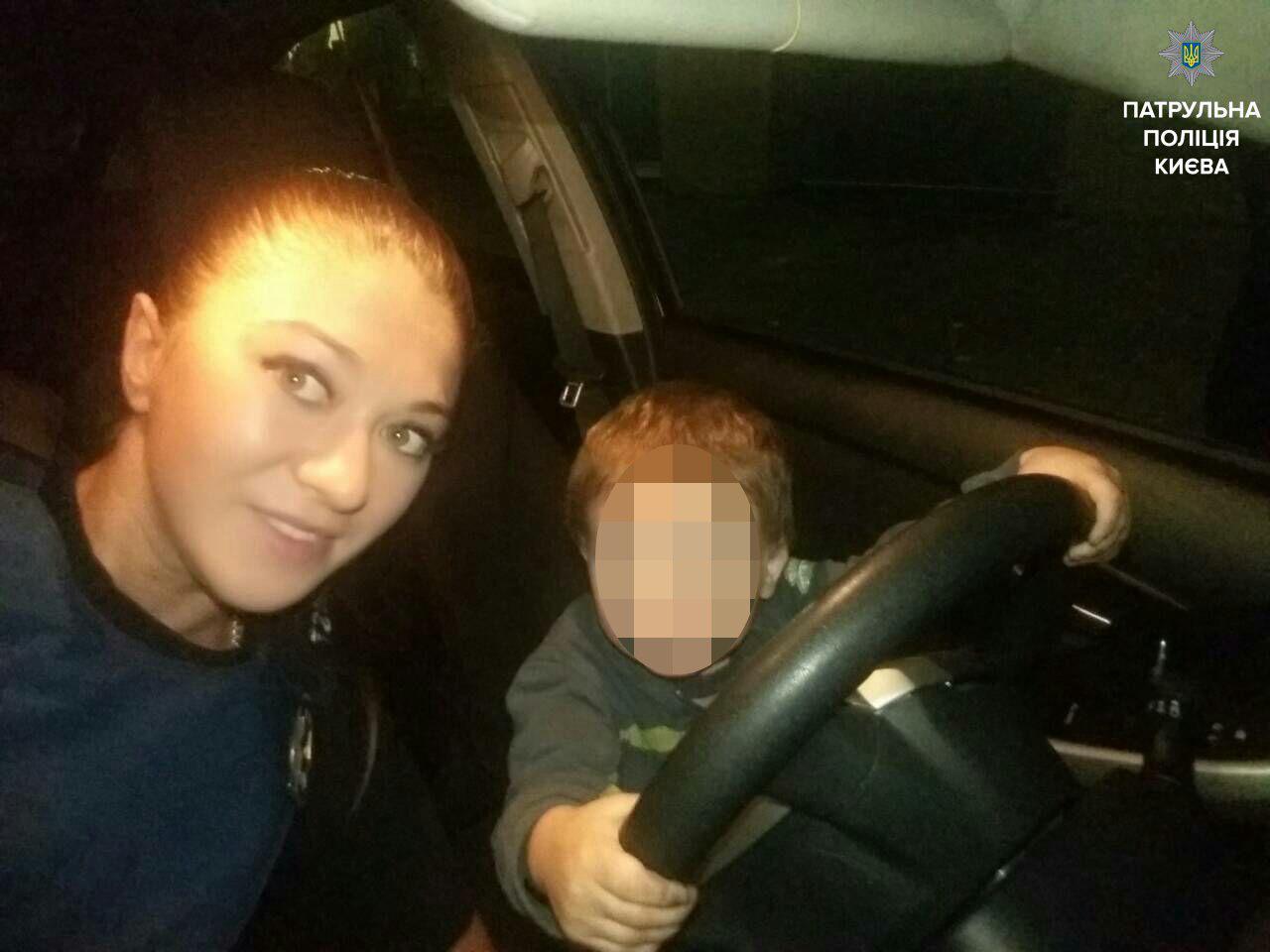 В Киеве пьяная мать пыталась убить своего ребенка