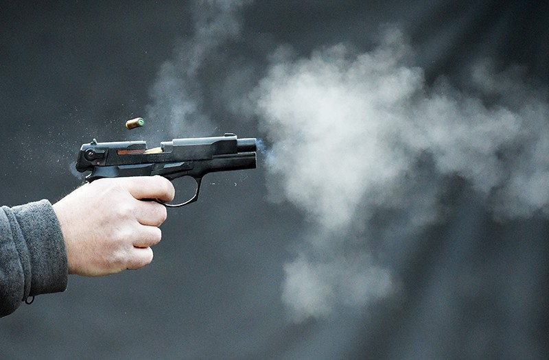 На территории киевского лицея неизвестный устроил стрельбу