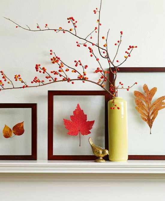 Идеи для вдохновения: как сделать картинки из осенних листьев своими руками