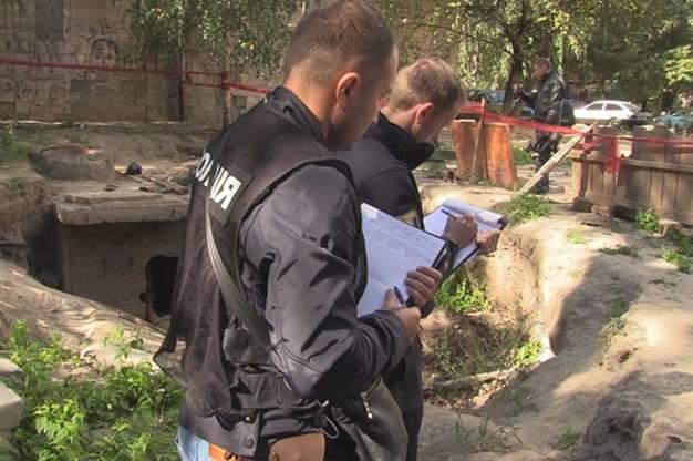 В Киеве нашли обезглавленный мужской труп