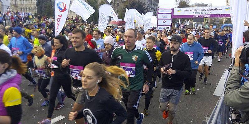 В Киеве во время марафона умер мужчина