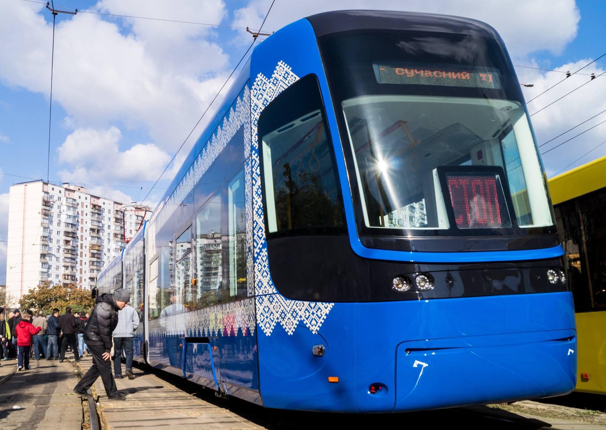 Поляки построят в Киеве предприятие по сборке трамваев