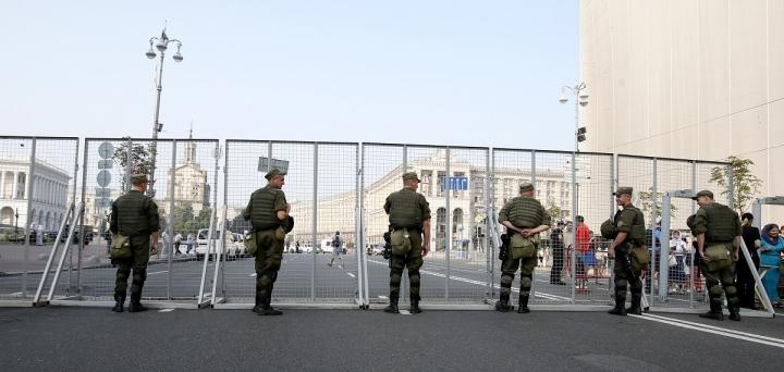 Киевлянам рекомендуют избегать поездок в центр города 17 октября