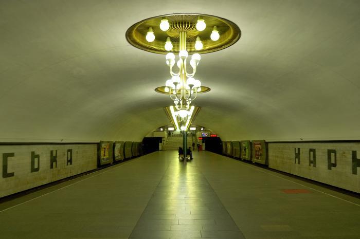 Из-за МАФов в метрополитене повредились стены и плитка