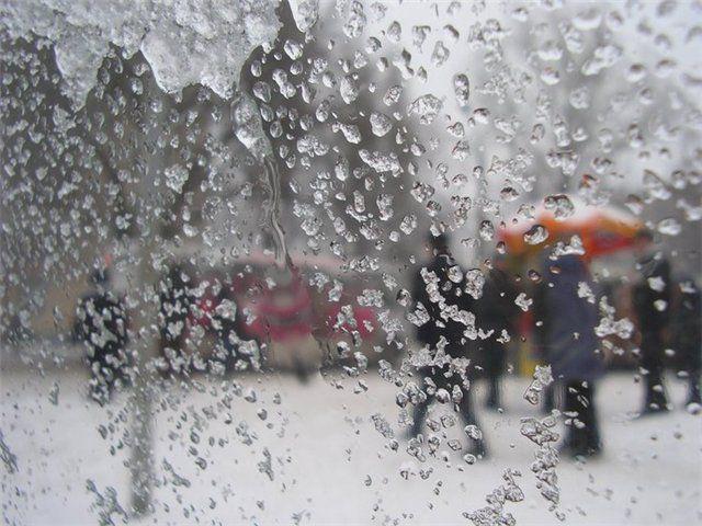 На 26 октября в Киеве обещают мокрый снег