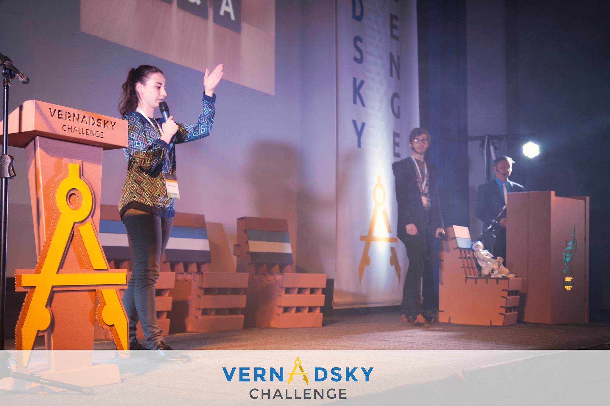Макс Поляков и конкурс Vernadsky Challenge: проекты победителей фестиваля