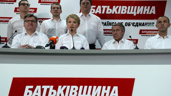 Несмотря на давление, «Батькивщина» победила бы на выборах 29 октября - экзит-пол