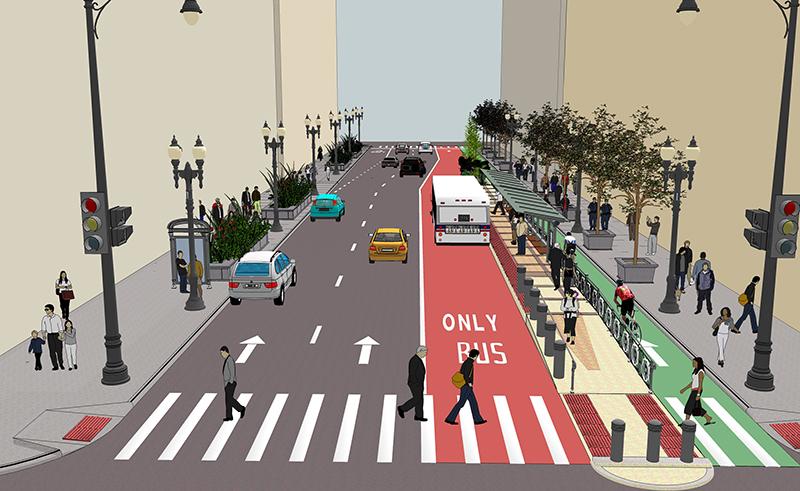 Стало известно, когда на Троещине реализуют транспортный BRT-проект