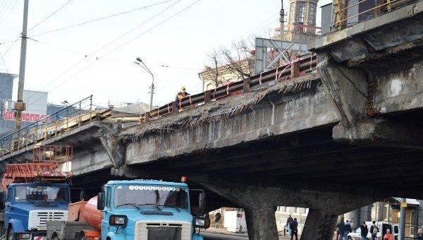 """Кличко назвал количество """"уставших мостов"""" в Киеве"""