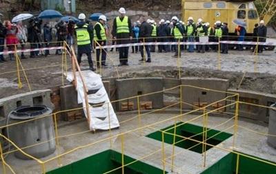 Новая нить Киевского коллектора прослужит 100 лет