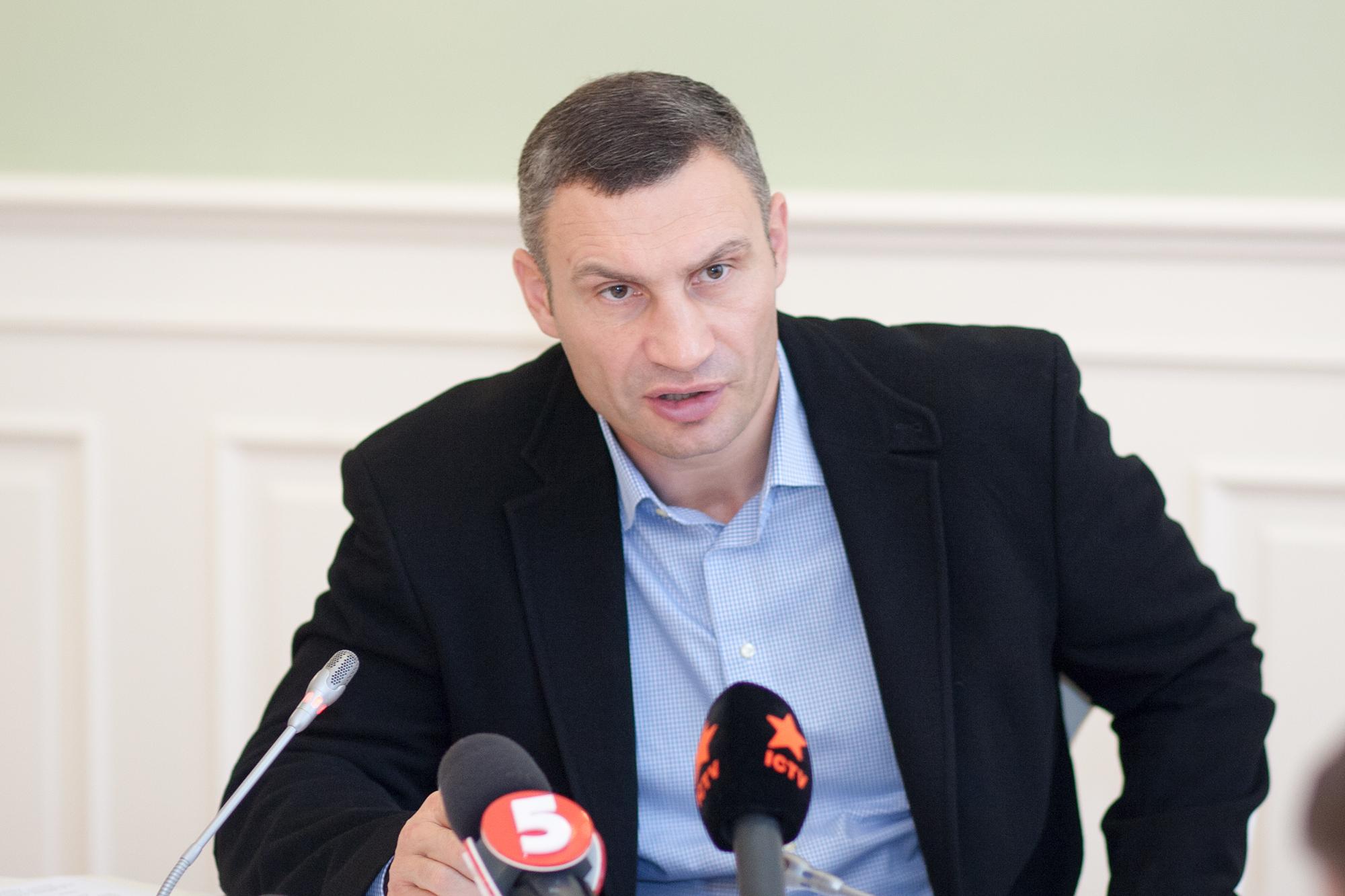 Кличко заставит бизнесменов уважать старые дома в Киеве