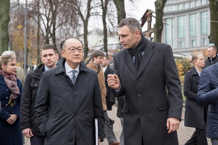 Виталий Кличко встретился с президентом Всемирного банка