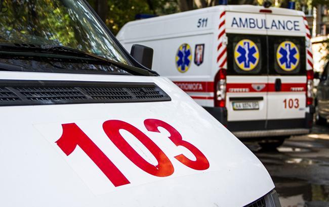 В Киеве посреди улицы умер пожилой мужчина