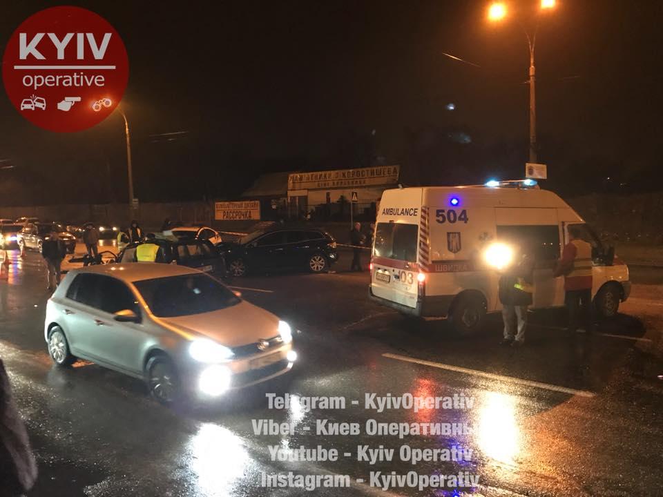 Чудовищное смертельное ДТП в Киеве по вине чиновника
