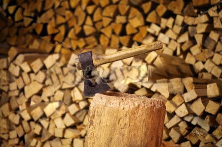 На Киевщине пьяный мужчина избил своего оппонента дровами