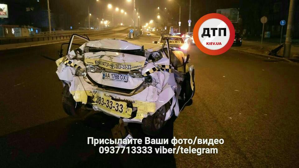 Пьяный водитель фуры устроил на проспекте Победы тройное ДТП