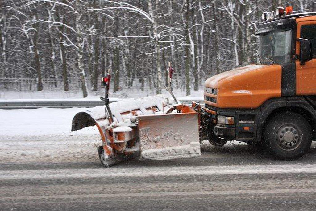 Убирать снег с тротуаров в Киеве будут уникальные машины
