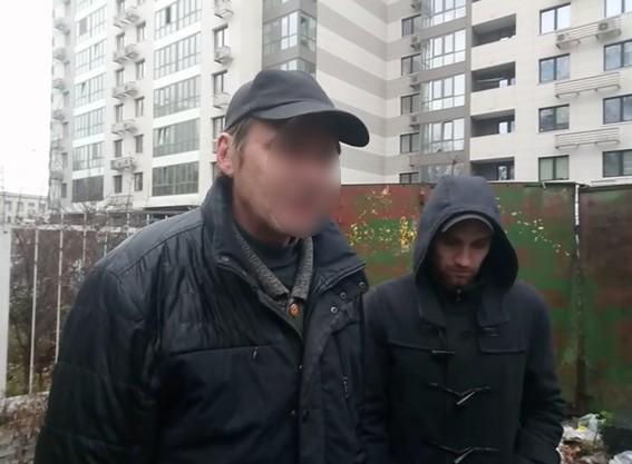 В Киеве курильщик убил незнакомого мужчину куском бетона