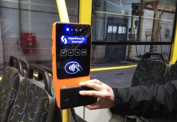 """В транспорте Киева начали устанавливать """"электронные компостеры"""""""