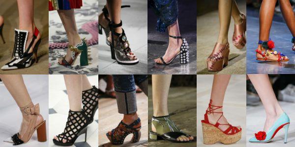 Модная обувь лета 2018