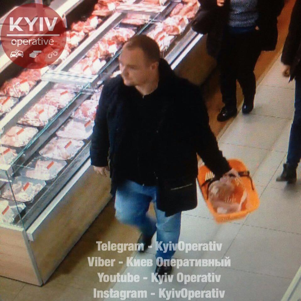 """В Киеве задержан """"покупатель-гурман"""""""