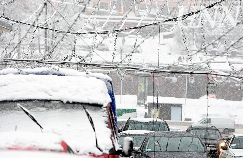 Киевлян предупреждают об отвратительных метеоусловиях