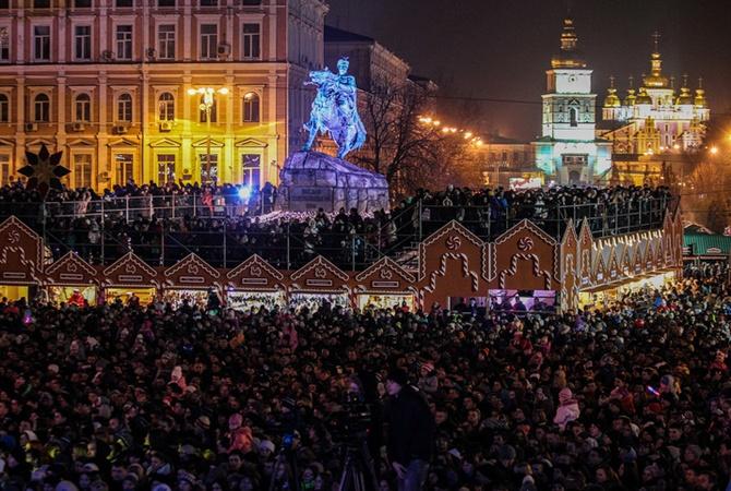 Выпить и закусить на Новый год в Киеве обойдется дороже чем в прошлом