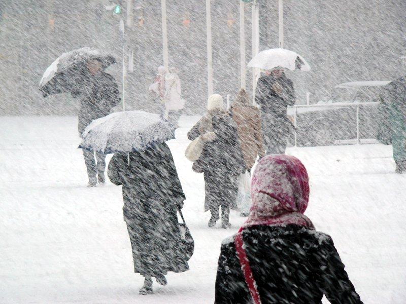 В Киев снова движется непогода