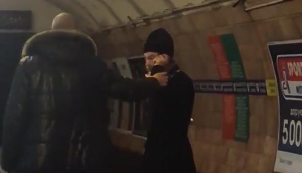 На все воля Божья: в метро Киева священник напугал пассажиров