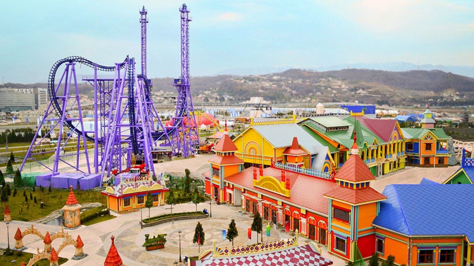 На Левом берегу Киева построят парк аттракционов