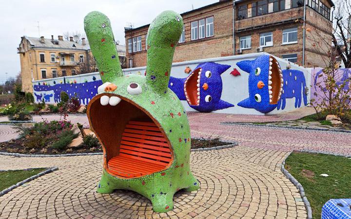 В Киеве реконструируют Пейзажную аллею