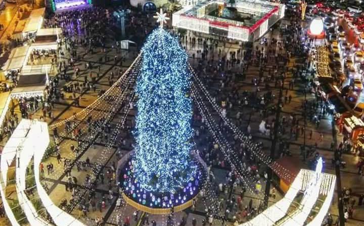 Елку на Софийской площади демонтируют 15 января