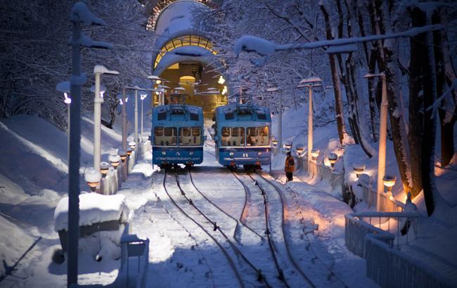 Настоящая зима в Киеве пока не предвидится