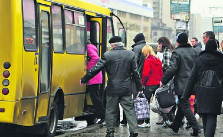 Проезд в маршрутках Киева подорожает уже в весной