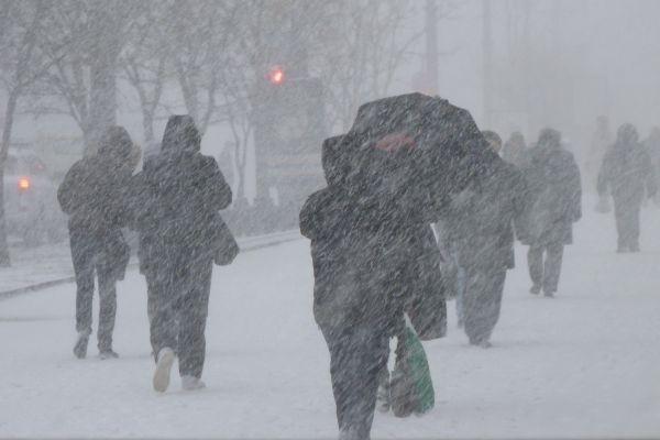 В Киеве ждут метель и снежную завируху