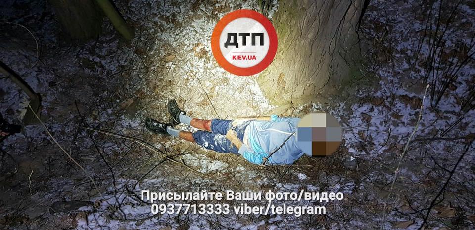 В парке Киева от переохлаждения умер наркоман