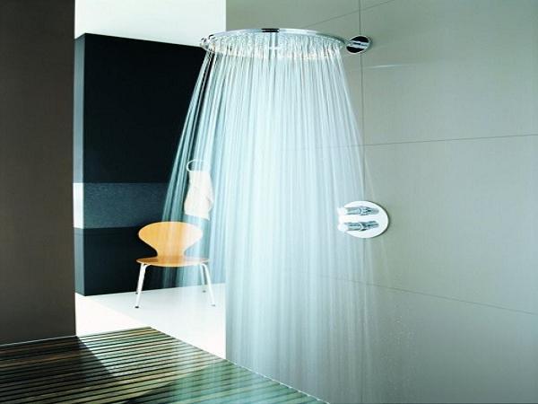Как очистить «тропический душ»?