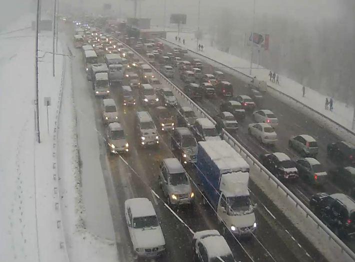 Горвласти объяснили, почему в Киеве были пробки
