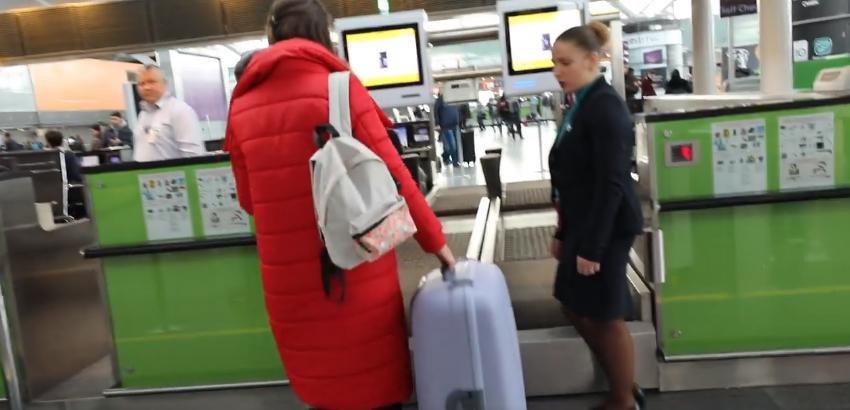 """В аэропорту """"Борисполь"""" ввели саморегистрацию багажа"""