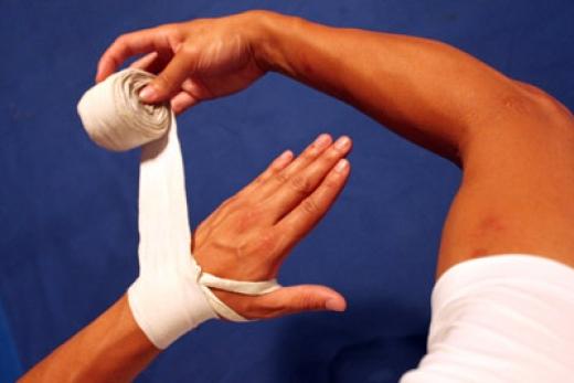 Как выбрать боксёрские бинты?