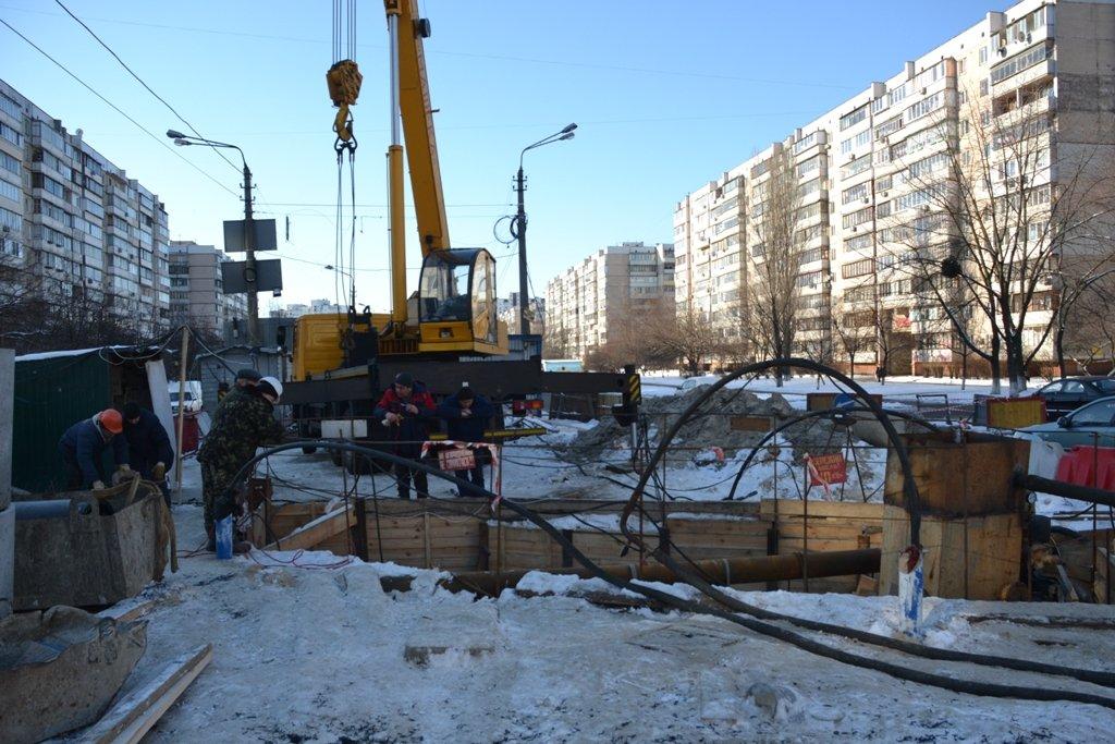 В Киеве завершили первый этап восстановления Ново-Дарницкого коллектора